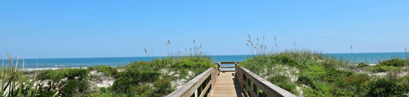 barefoot trace boardwalk to st augustine beach